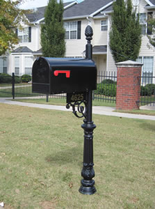 our mb1 mailbox is one of our most popular mailbox systems with its high class styling and classic decorative accents this particular mailbox features a - Decorative Mailboxes
